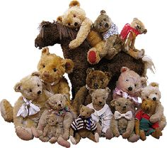 Antique Bears web site | Steiff | Restoration | Old Bears | Teddy Bears | Olde Bear Attique