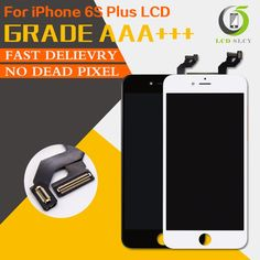 110.00$  Watch more here - http://aiaru.worlditems.win/all/product.php?id=32783924348 - 2pcs AAA quality 3D touch Screen Display For iPhone 6s plus LCD display 5.5 inch Touch Screen Digitizer Assembly free shipping