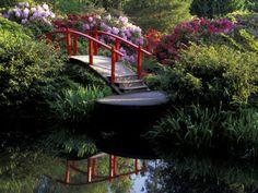 Moon bridge and Pond, Seattle