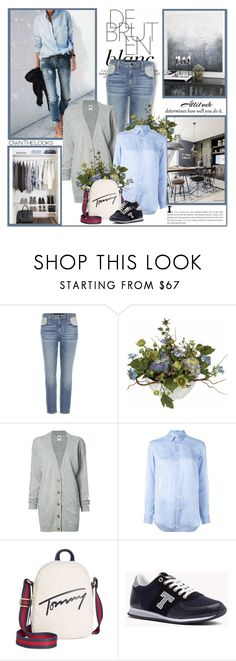 """""""Far and away the best prize that life has to offer is the chance to work hard at work worth doing!!"""" by lilly-2711 ❤ liked on Polyvore featuring Ex Voto Paris, Alexander Wang, Nearly Natural, NSF, Polo Ralph Lauren and Tommy Hilfiger"""