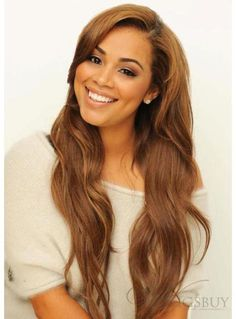 Long Loose Wave Lace Front Wigs For Black Women 24 inches