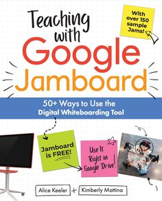Alice Keeler and Kim Mattina are about to release their second book together about more than 50 ways to use Google Jamboard! Social Emotional Learning, Deep Learning, Handwriting Template, Bingo Board, Upper Elementary, Google Classroom, Educational Technology, Student Learning, Higher Education
