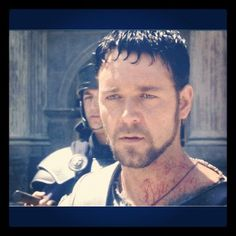 Gladiator is an amazing movie! Not to mention, Russell Crowe is sexy