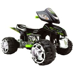 ATV for young kids to ride around on safely powered by a 12 volt battery