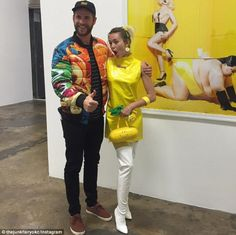 Lovebirds:Miley Cyrus and Liam Hemsworth made a rare appearance together for their photog...
