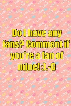 Love to hear it! And if you want comment your favorite bands and songs cause I want to listen to new music and I listen to EVERYTHING so don't be shy :)