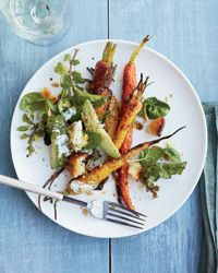 Roasted Carrot and Avocado Salad with Citrus Dressing Recipe on Food & Wine
