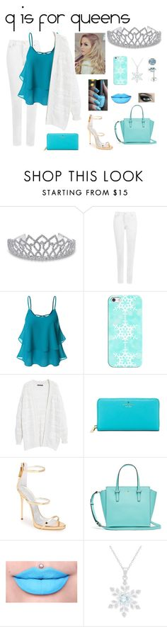 """""""q is for queens"""" by berkeleys12 ❤ liked on Polyvore featuring Bling Jewelry, Disney, WearAll, Doublju, Casetify, Violeta by Mango, Kate Spade, Giuseppe Zanotti, Victoria Townsend and Amour"""