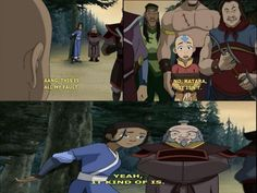 Love this when Aang love's Katara so much, that he doesn't want her to feel bad. <-------- lolol no, only pinning for iroh Avatar The Last Airbender Funny, Avatar Airbender, Korra Avatar, Team Avatar, Blind Girl, Avatar World, Iroh, Fire Nation, Air Bender