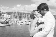 You can kiss the bride. See how your wedding dream come true in #Laisla #CoralMarina #Ensenada www.hotelcoral.com