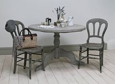 love this grey table
