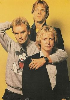 The Police (1980)- From what I've heard, Sting would probably want to have had both hands more tightly around Andy's neck!