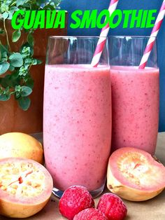 A guava smoothie sounds interesting!!!! Guava Fruit is a very flavorful type of produce that will give your smoothie recipes a nice tropical sweet/tart blend to them!