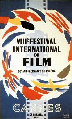 Official Festival de Cannes Poster, 1955