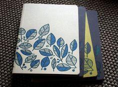 Leafy Notebook by notoshop on Etsy