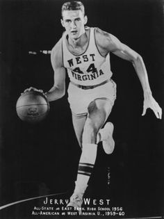 "Jerry West was ""Clutch"" when the game was on the line as a WVU Mountaineer and as a Los Angeles Laker!"