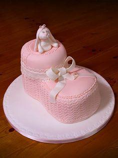 christening - big boots cake lo res.  Learn Amazing #Cakes #Design on Cake Decorating Courses http://CakeDecoratingCoursesOnline.com