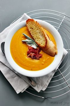 Pumpkin soup - Plate of Joy