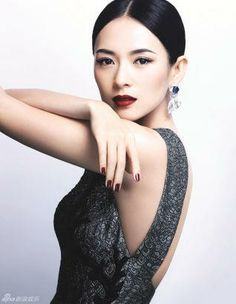 Zhang Ziyi poses for a fashion magazine in 2013