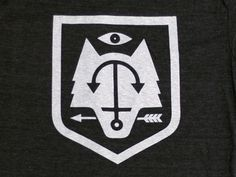 Shield and wolf, arrow and eye, some of my favorite icons!