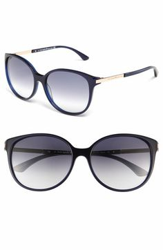 kate spade new york 'shawna' 56mm sunglasses available at #Nordstrom in Tortoise