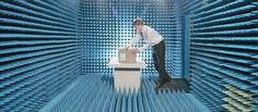 RFID tags measurement is the main purpose of this anechoic chamber. Microwave RF…