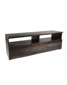 Domino 3 Drawers Entertainment Cabinet