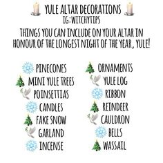 Tips for Witches Everywhere! Pagan Yule, Pagan Altar, Samhain, Wiccan Sabbats, Paganism, Yule Celebration, Wiccan Decor, Eclectic Witch, Modern Witch