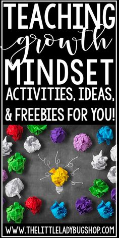 Teaching Growth Mindset is so important to teach to our students. Teaching between growth and fixed mindset can be such a positive lesson for your class. This free packet of activities is perfect to use with your class today from growth mindset bulletin board pennants and writing activities for your classroom.