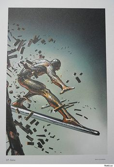 Moebius Visions of American Superheroes and Comic Book Icons [Art]
