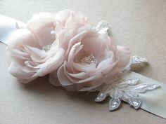 Hey, I found this really awesome Etsy listing at https://www.etsy.com/il-en/listing/128140791/wedding-ivory-sash-blush-wedding-sash