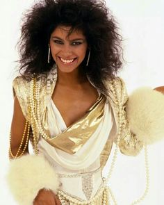 Vanity (born, Denise Matthews).  Before she met Prince, Vanity was the face of Pearl Drops toothpaste.