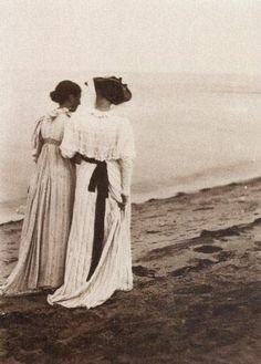 See the painting of the two women on the beach: Marie Krøyer and Anna Ancher