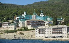 Monastery of Agios Panteleimon. Mount Athos - Greece