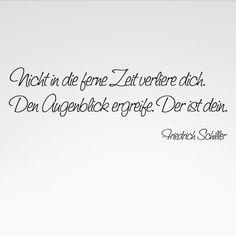 Ach, der gute Schiller....