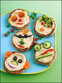 and a kid friendly hummus snack Toddler Meals, Kids Meals, Toddler Food, Preschool Snacks, The Chew, Healthy Snacks For Kids, Healthy Meals, Food Humor, Cooking With Kids