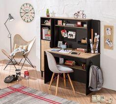 Kidsroom, Kids Bedroom, Corner Desk, Study, Projects, Furniture, Home Decor, New York, Black