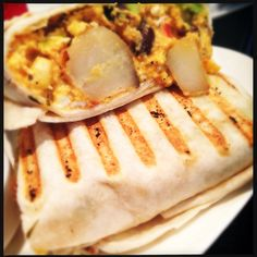 #nomnom Our El Gigante breakfast burrito. Ole ole ole ole ole! Enjoy with a michelada at brunch! #foodporn