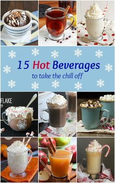 15 Hot Beverages to Take the Chill Off!