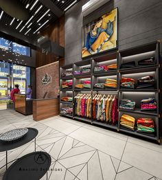 Showroom Interior Design, Boutique Interior Design, Boutique Decor, Clothing Store Interior, Clothing Store Design, Cash Counter Design, Wall Decor Design, Retail Store Design, Store Interiors