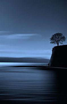Serene and calm