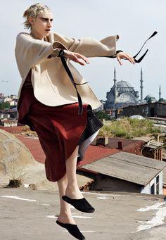 Julia Nobis by Craig McDean for W Magazine November 2015 12