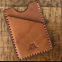 Wallet The Fort Hamilton Baseball Glove Leather - Handcrafted Leather Lifestyle Goods Inspired By Country Comfort Made For The City When You Were A Kid Did You Ever Get To Explore Your Grandparents Garage Or Attic And Discover All Of The To Leather Wallet Pattern, Handmade Leather Wallet, Leather Card Wallet, Leather Gifts, Leather Art, Custom Leather, Leather Tooling, Leather Purses, Leather Wallets