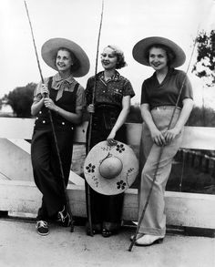 Anita Louise, Dorothy Stone, Alma Lloyd, 1936