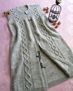 Baby Knitting Patterns, Knitting Stitches, Knit Baby Dress, Poncho, Karen, Knit Vest, Cardigan Pattern, Sweater Design, Winter Fashion Outfits