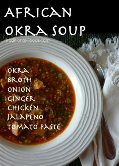 African Okra Soup @ Traditional-Foods.com