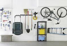 idée de rangement pratique dans le garage