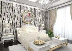 Wallpaper Home | Black Wallpaper | White Wallpaper | Wallpaper Style