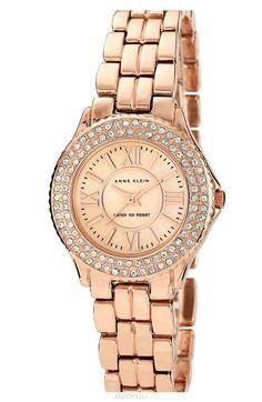 Наручные часы женские Anne Klein, цвет: золотистый, розовый. 9536RMRG