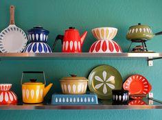 Kitchenware by Grete Prytz Kittelsen for Cathrineholm. Yum.